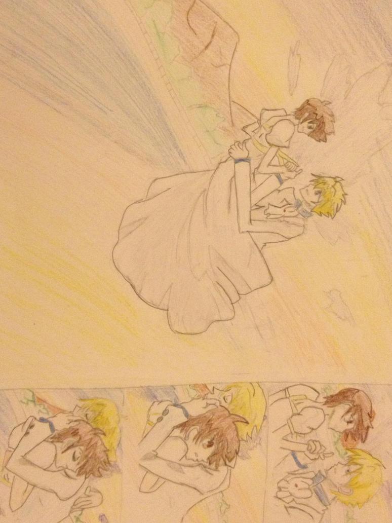 Tamaki x Haruhi (OHSHC) by Dangolover215