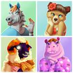 Animal Crossing Faves Set 1