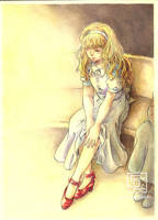 The Red Shoes Cover by Samy-Consu