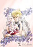 Fairy Tail: Cornflower by Samy-Consu
