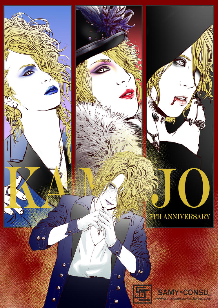 Kamijo - solo project by Samy-Consu