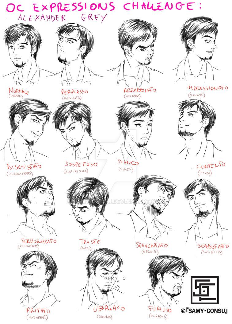 OC Expressions Challenge by Samy-Consu