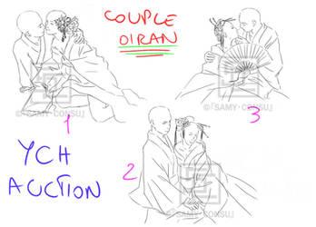 YCH: 3 Oiran Couple [OPEN] by Samy-Consu