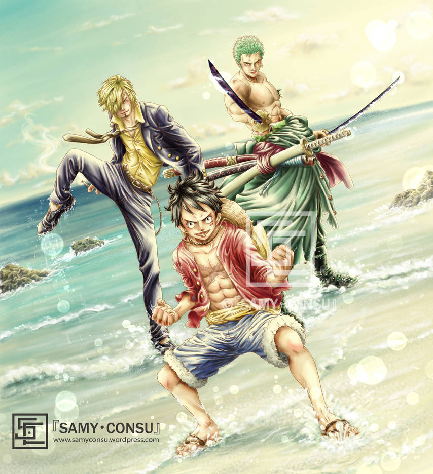 OP: Monster Trio by Samy-Consu