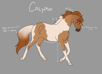 CV | Calypso by Hidden-Bubbles