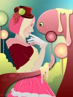 Candy Monster by shiropanda