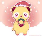 Sweet Christmas Panda by shiropanda