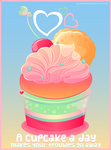 A Cupcake a Day by shiropanda
