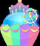 Funfair Cupcake