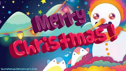 Merry Christmas by shiropanda