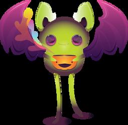 Sweet Bat by shiropanda