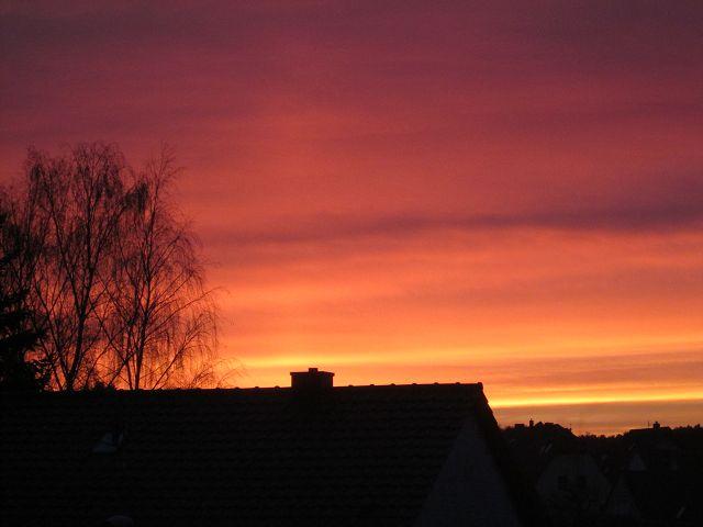 Sundown skyline by AmdirBrethil