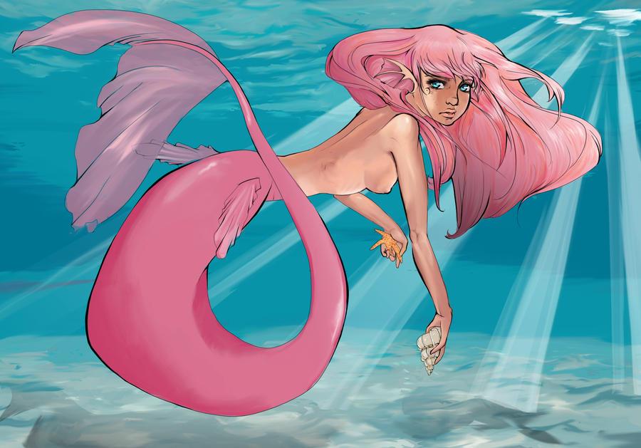 Little Mermaid by LittleNightingale