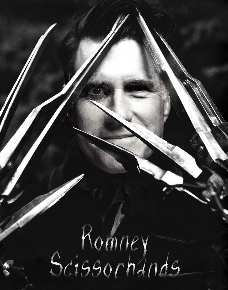 Romney Scissorhands by Windthin