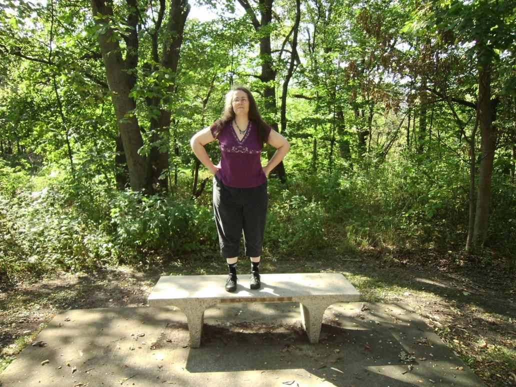 Rachel in the Woods 6 by Windthin