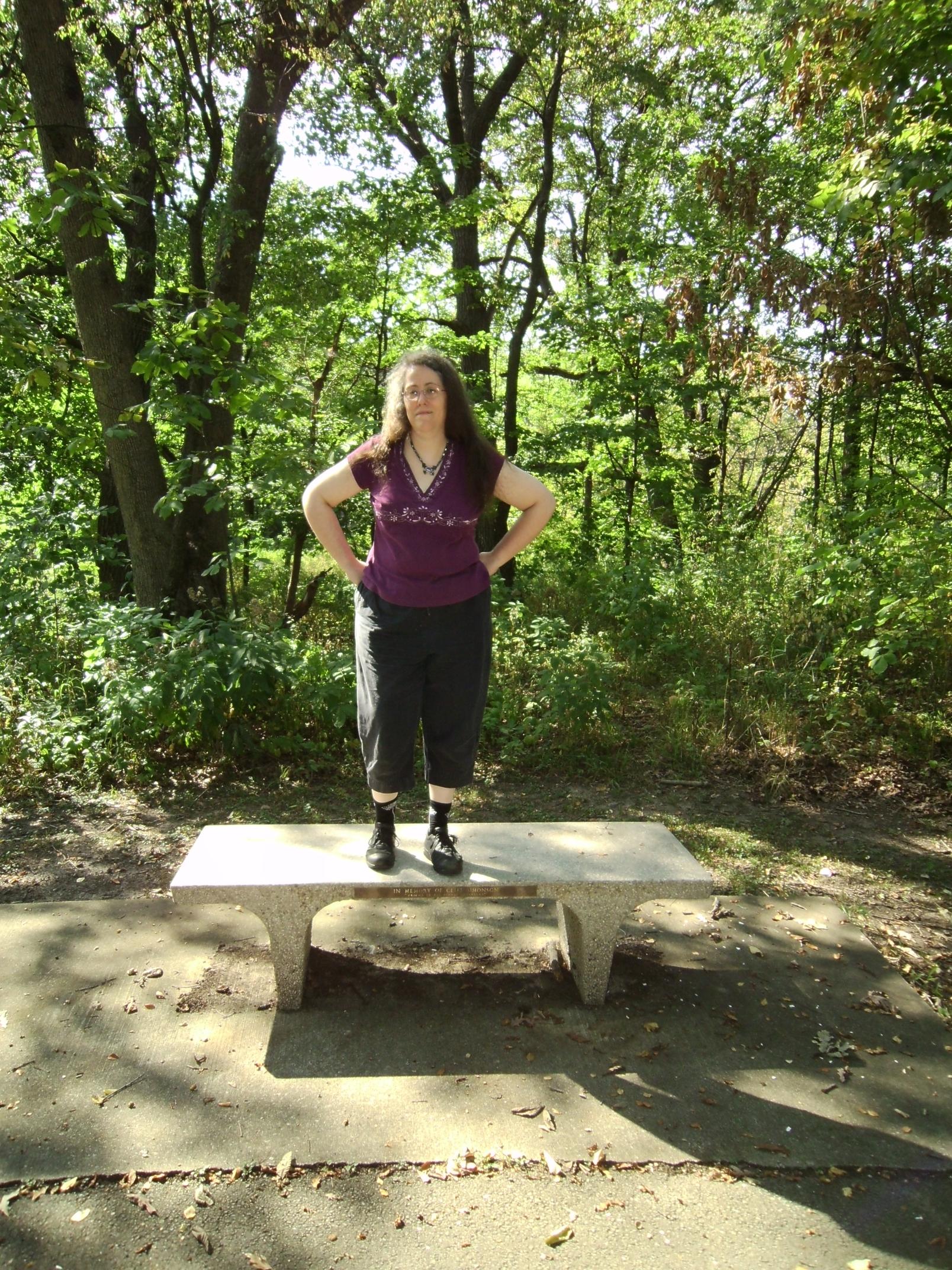 Rachel in the Woods 7 by Windthin
