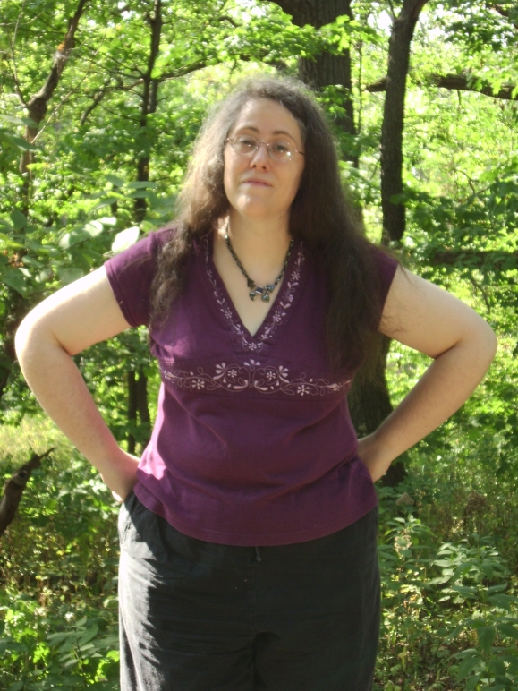 Rachel in the Woods 9 by Windthin