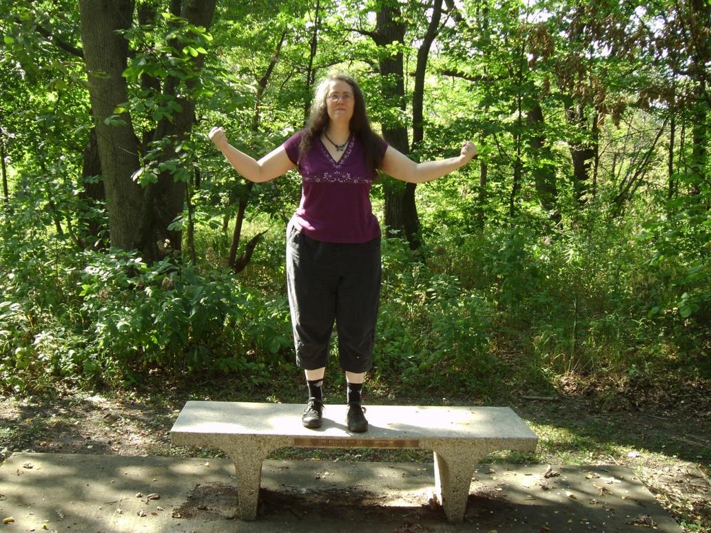 Rachel in the Woods 11 by Windthin