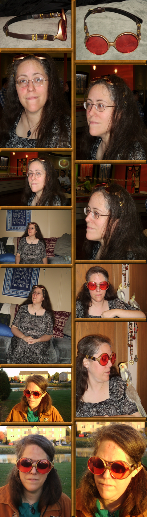 Rachel's New Goggles Collage by Windthin