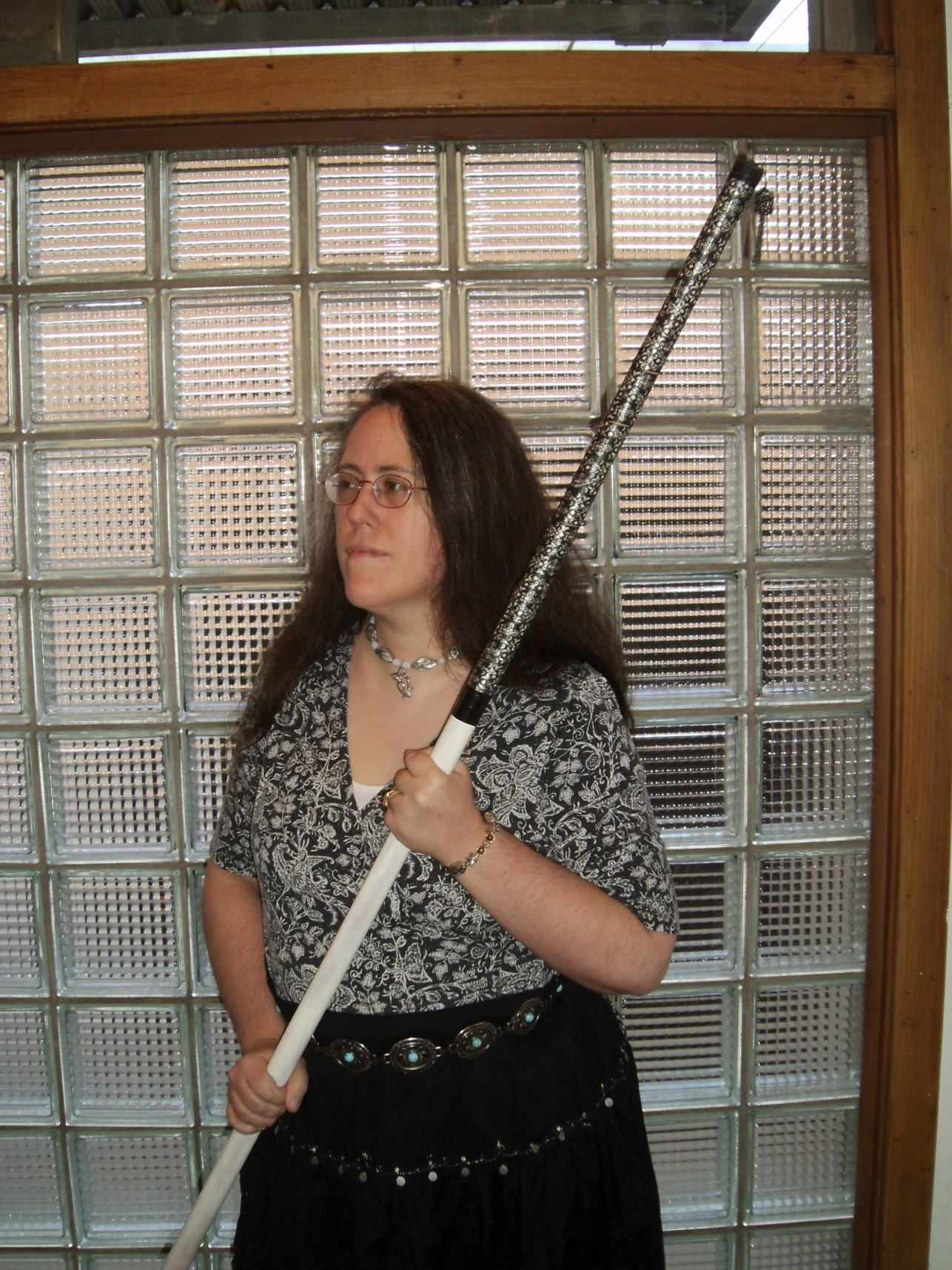 Rachel with Gothic Victorian Staff 6 by Windthin