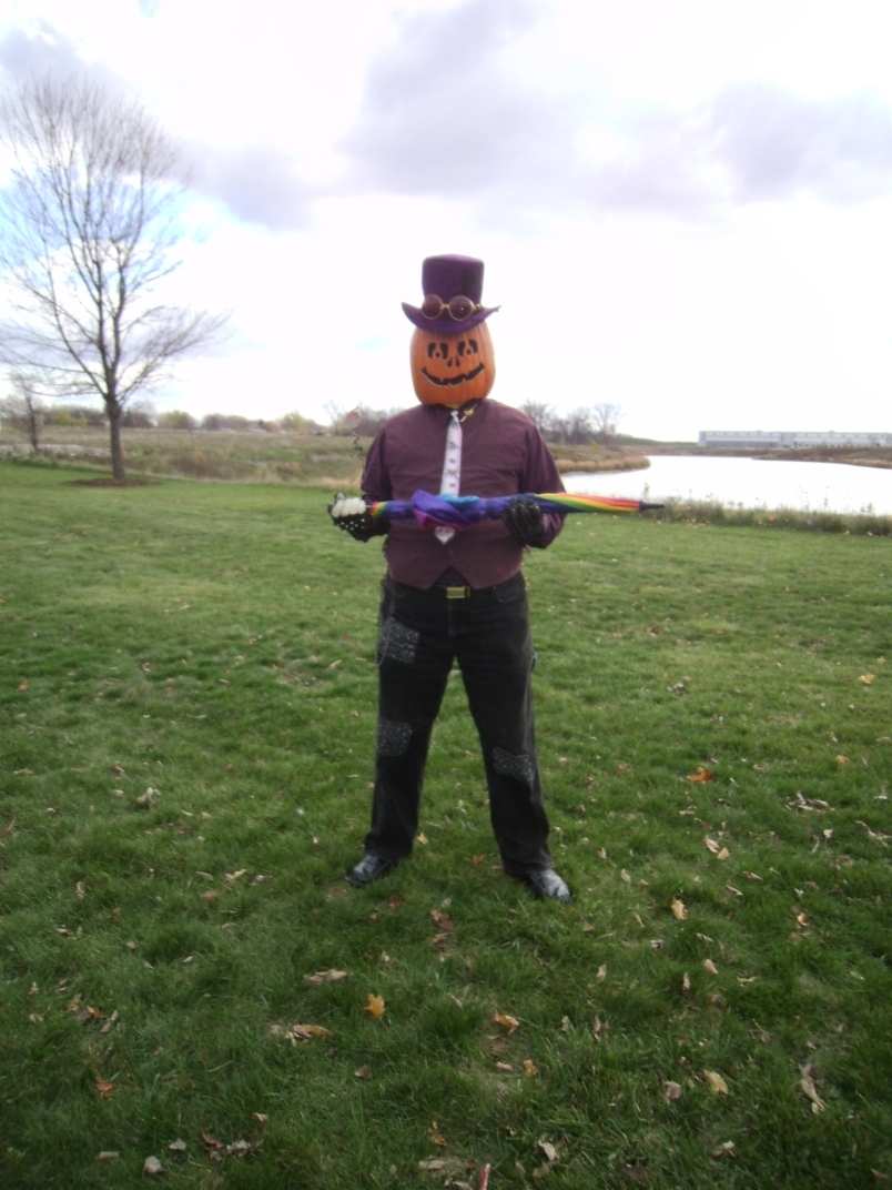Gourdon Pumpkinhead Before the Parade 5 by Windthin