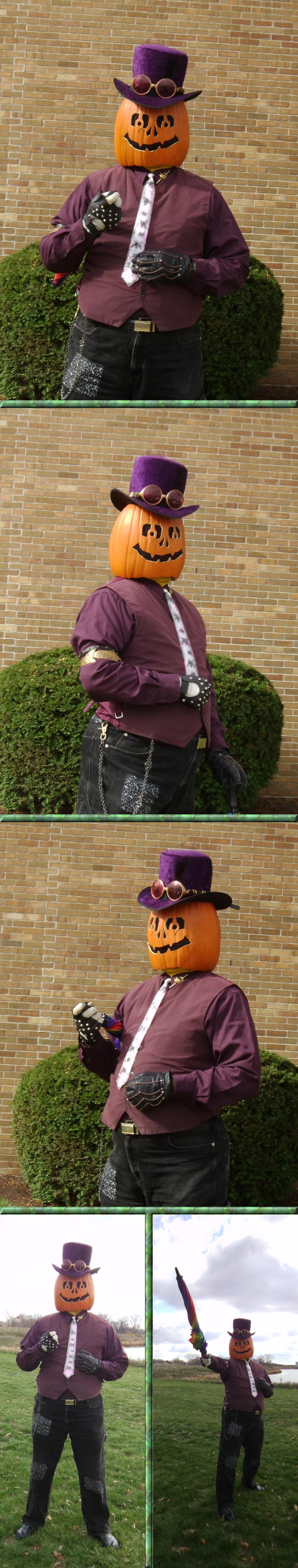 Gourdon Pumpkinhead at Sycamore Pumpkin Parade by Windthin