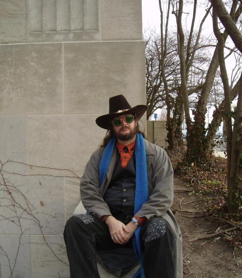 Steampunk Cowboy 15 by Windthin