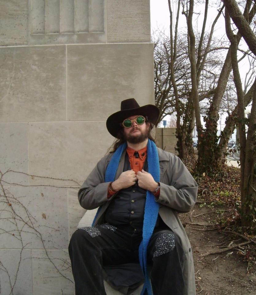 Steampunk Cowboy 17 by Windthin