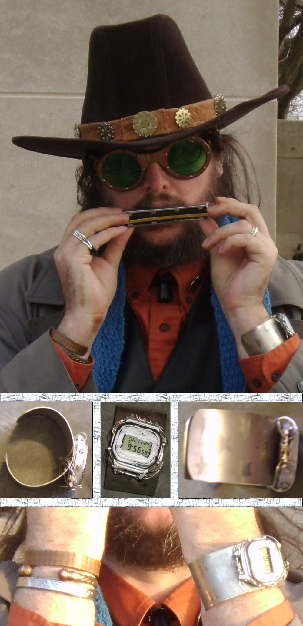 Silver Bracelet Watch by Windthin