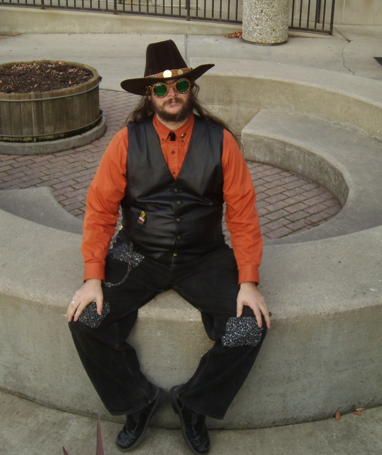 Steampunk Cowboy 39 by Windthin
