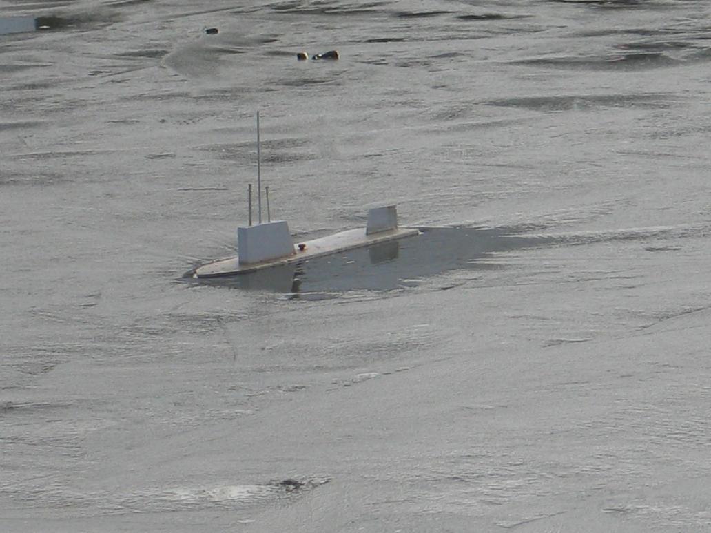 Mystery Armada - North Submarine by Windthin