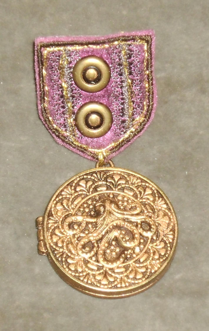 Gold Cthulhu War Medal 1 by Windthin