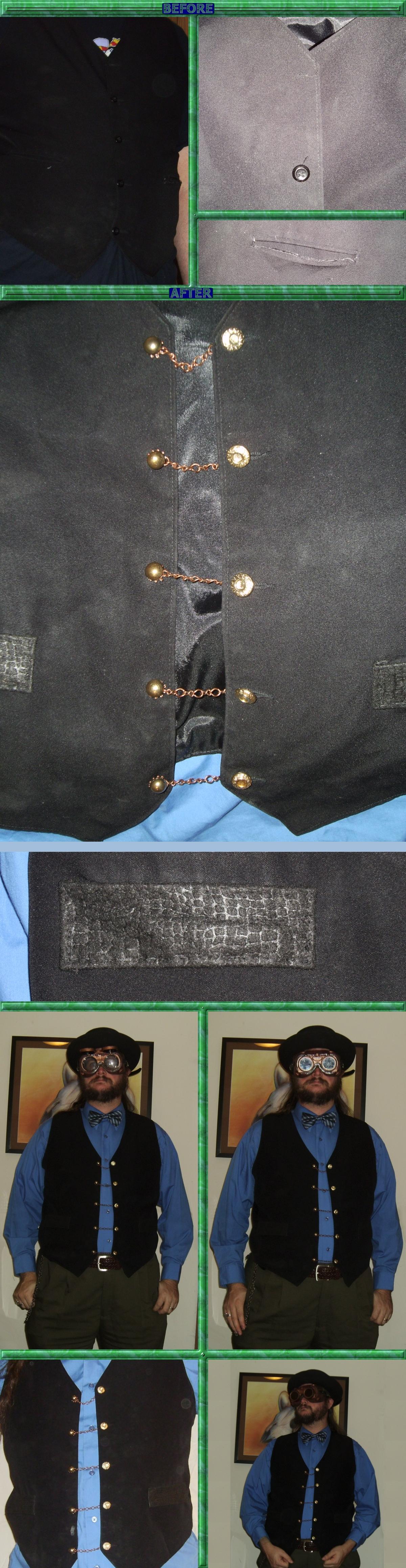 Gear Link Vest Refurbishment by Windthin