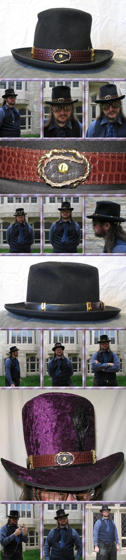 Leather Horseshoe Hatband by Windthin
