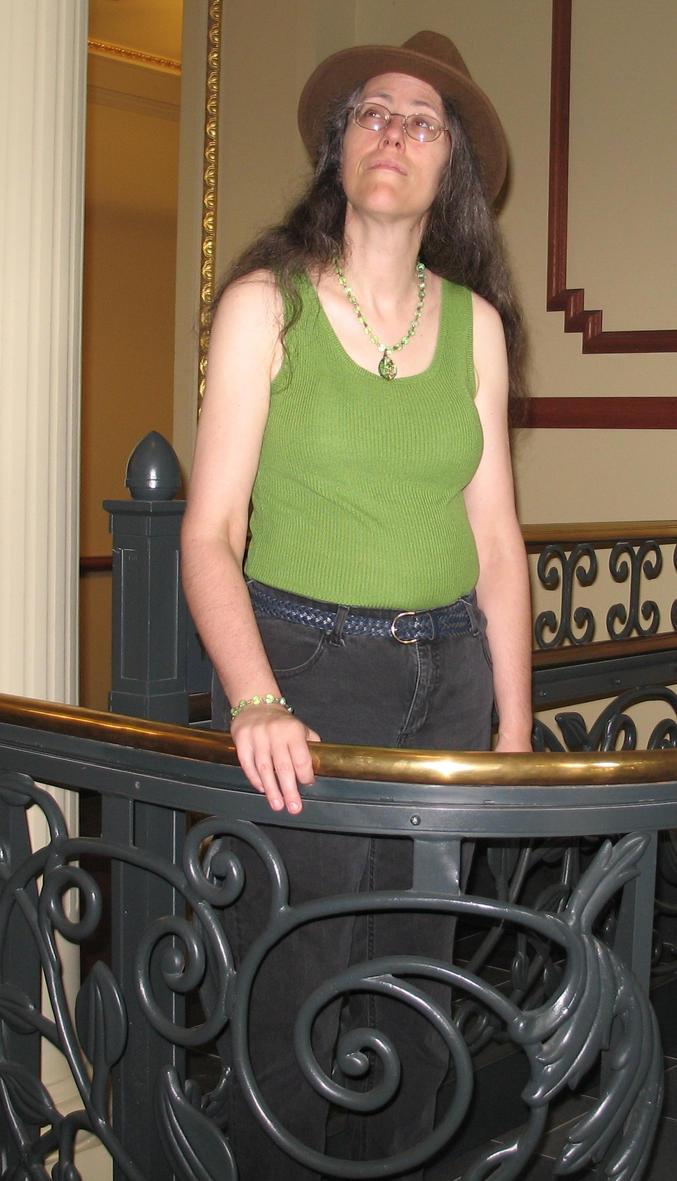 Rachel in Green 1 by Windthin