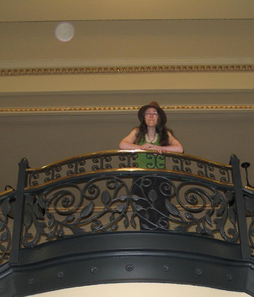 Rachel in Green 16b by Windthin