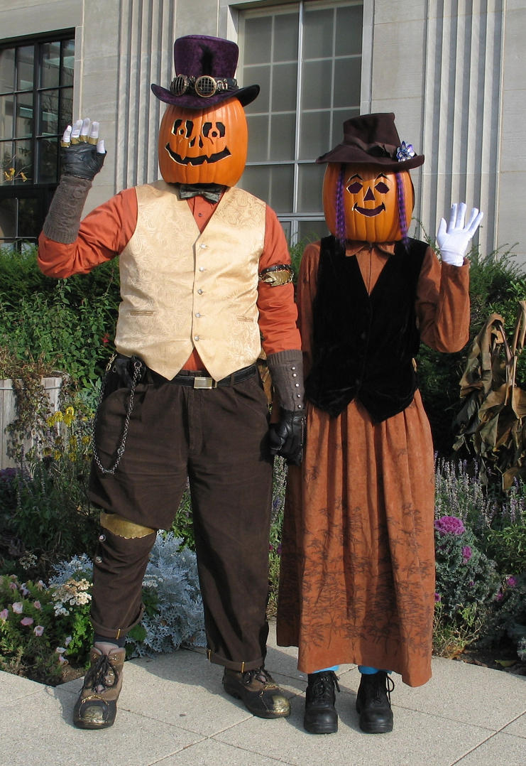 Gourdon and Zuccia Pumpkinhead 2 by Windthin