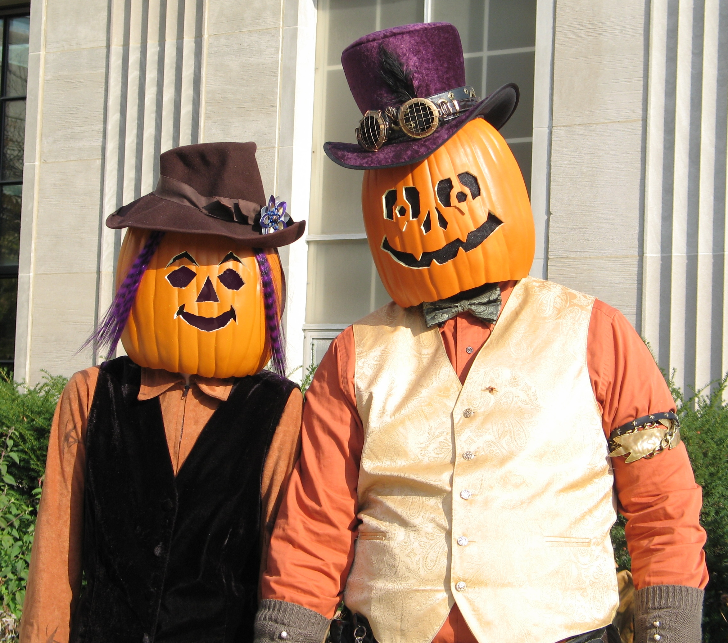 Gourdon and Zuccia Pumpkinhead 7 by Windthin
