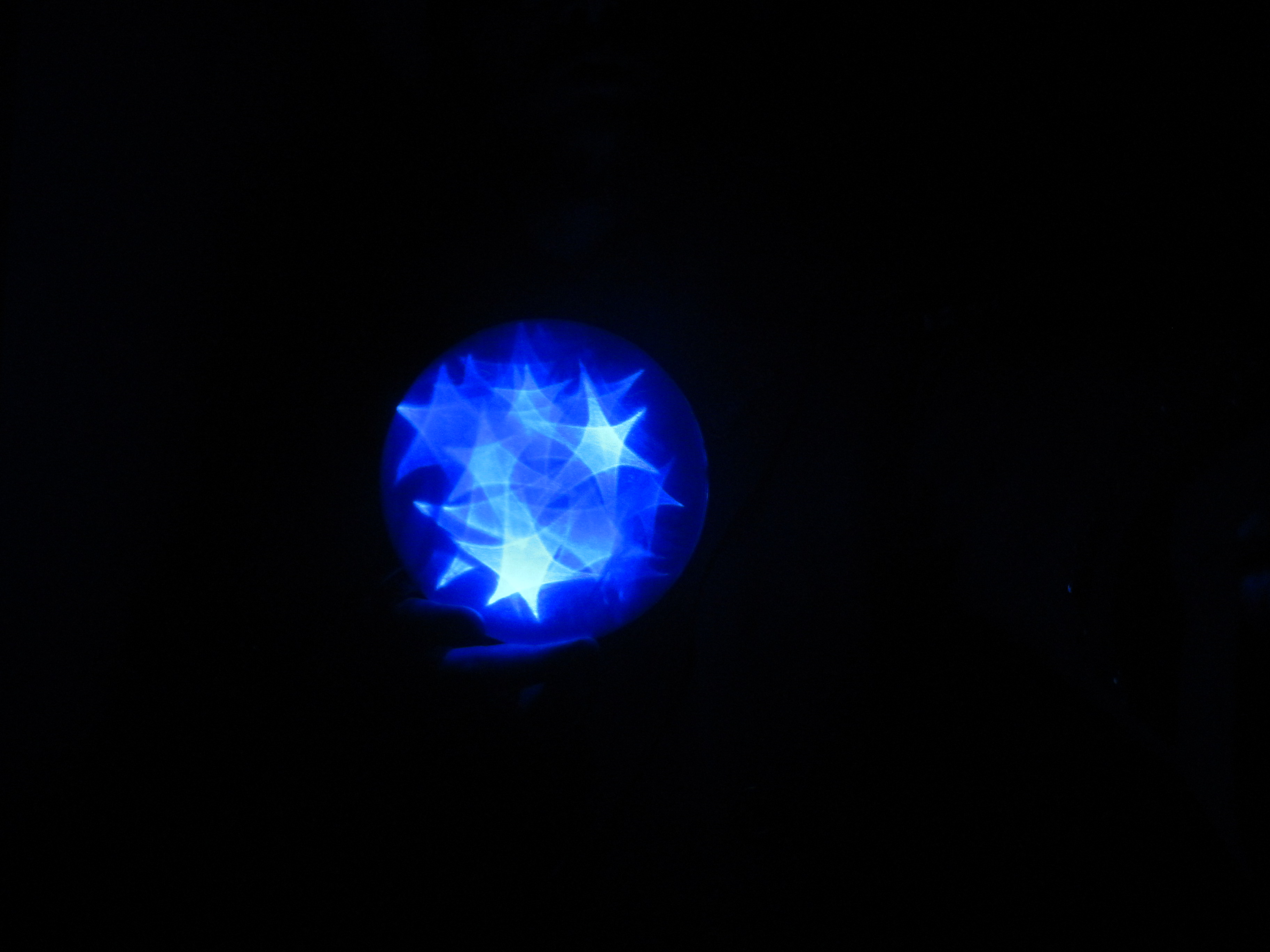 Blue Star Orb 1 by Windthin