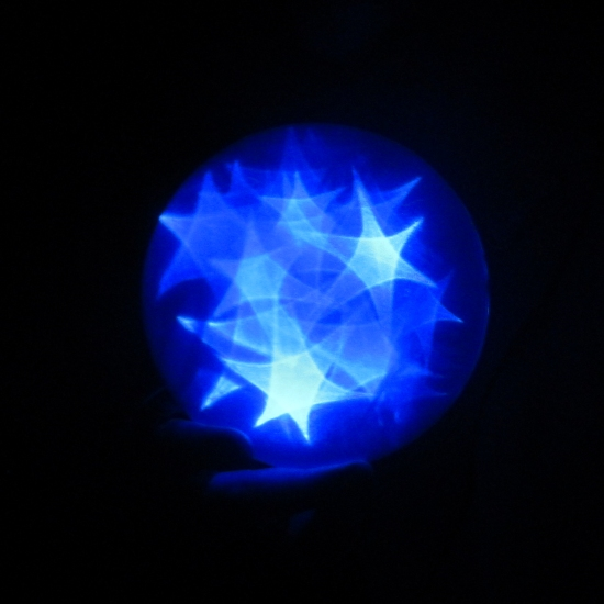 Blue Star Orb 1b by Windthin
