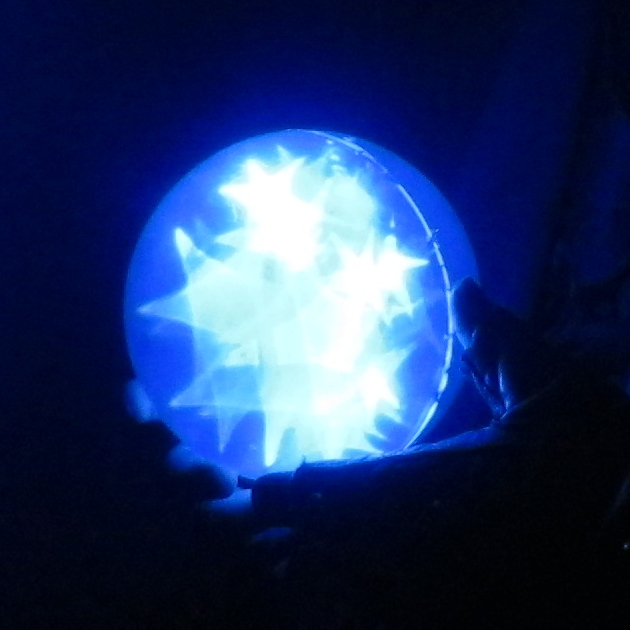 Blue Star Orb 9c by Windthin
