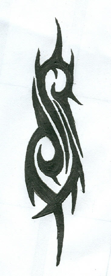 slipknot tribal s logo by dark-vermilion on DeviantArt