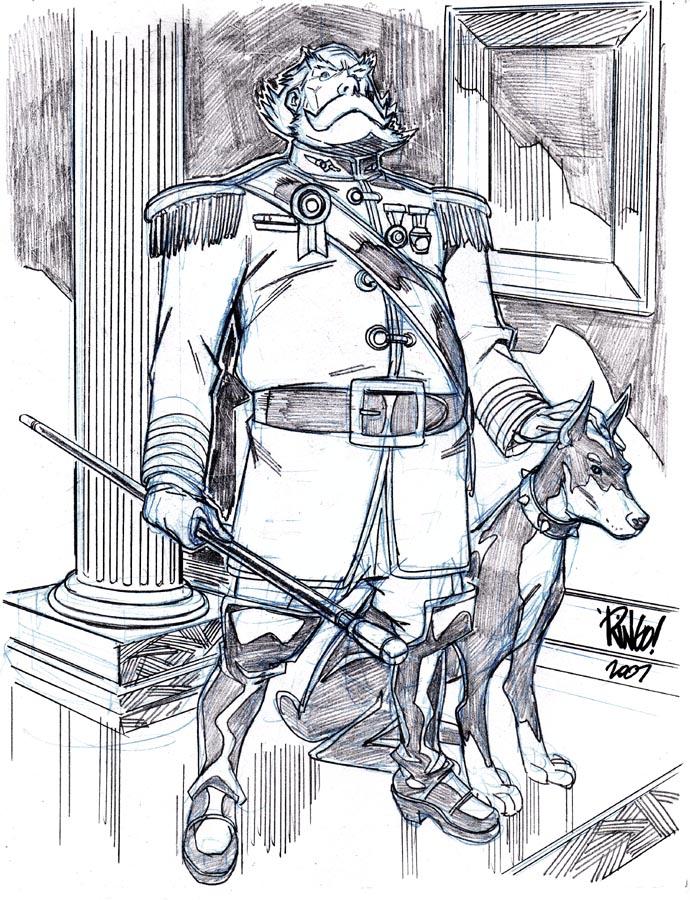 THE EMPEROR by Wieringo