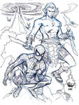 SPIDER-MAN and KAZAR