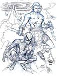 SPIDER-MAN and KAZAR
