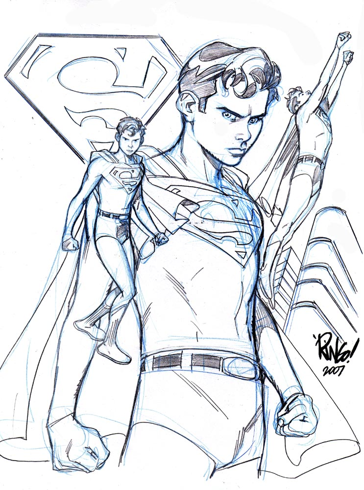 super boy coloring pages - photo#21