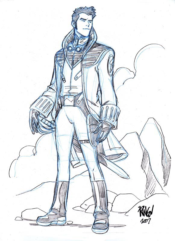 Captain Orion Buck_rogers_by_wieringo
