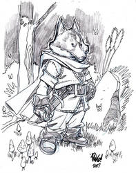 RIKK character sketch by Wieringo