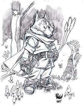 RIKK character sketch