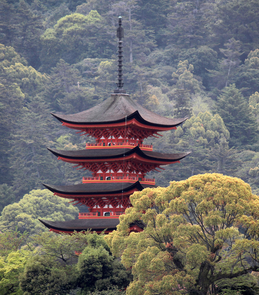 Temple in the Trees